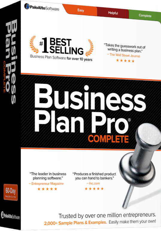 Business Plan Pro Complete Technographics