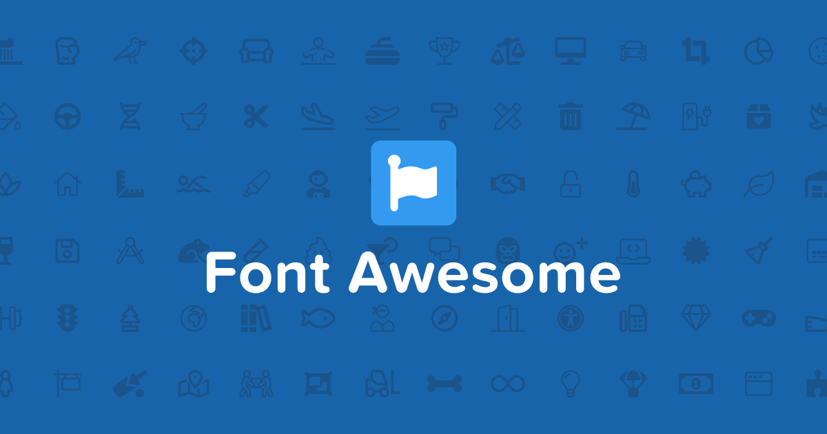 Font Awesome Technographics