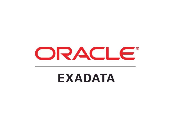 Oracle Exadata Technographics