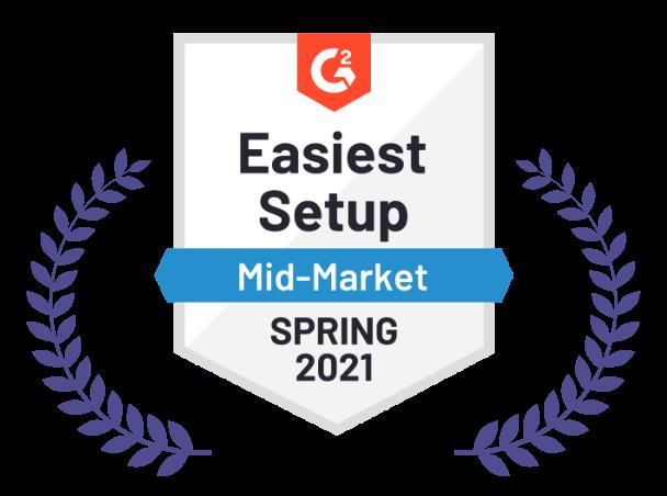 Easiest Setup, Spring 2021