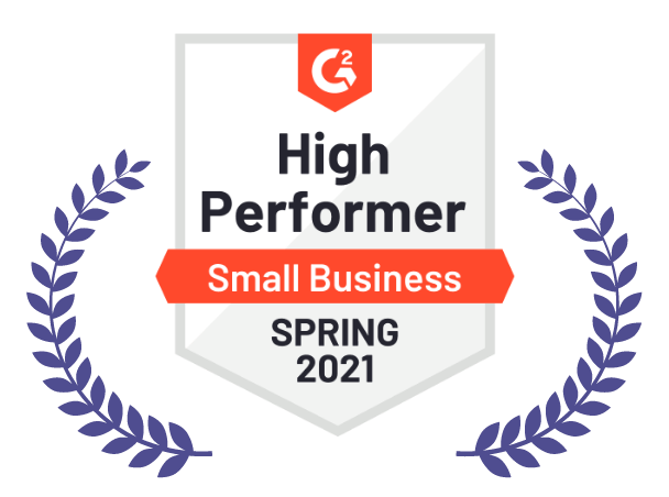 High Performer, Small business, Spring 2021