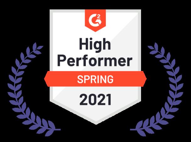 High Performer, Spring 2021